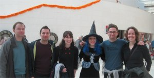 Team of Treasure Hunters with Wanda the Witch at the British Museum
