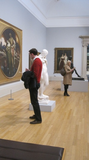 looking for clues at Tate Britain