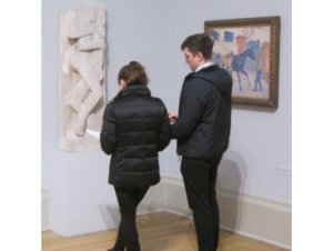 looking for clues at Tate Britain1
