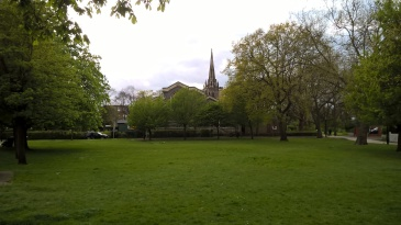 Chingford Green and SS Peter and Paul Church by Juliamaud