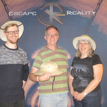 Team Invitation To Events played Escape Reality and managed to escape.
