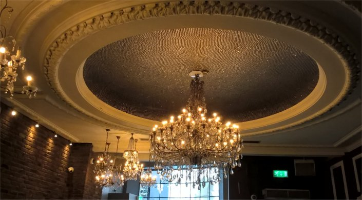 jewel bar ceiling
