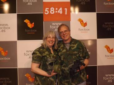 Invitation To Events saving the world - the Bunker Escape room at fox-in-a-box-madrid