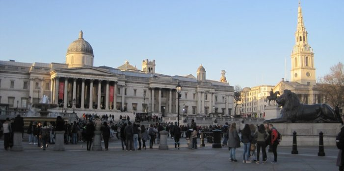 Trafalgar Square by Juliamaud