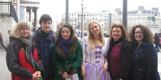 Treasure Hunt at Trafalgar Square