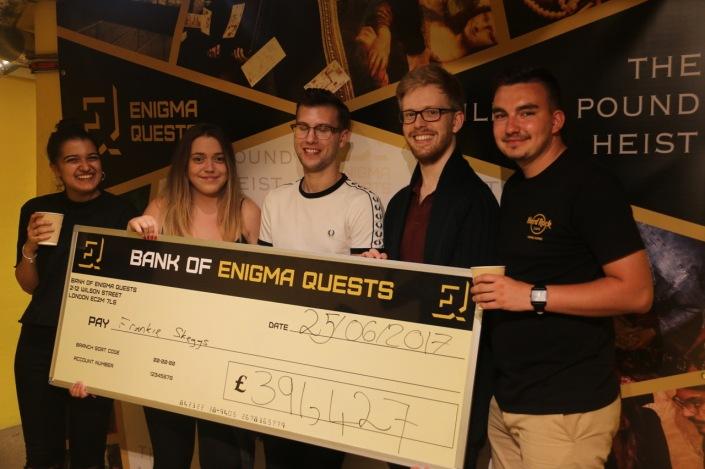 Enigma Quest - heist 1