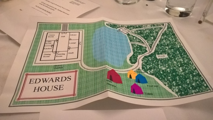 Map of Edwards House copyright ITM Games