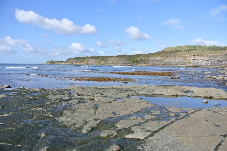 Kimmeridge Bay on the Jurassic Coast by Juliamaud