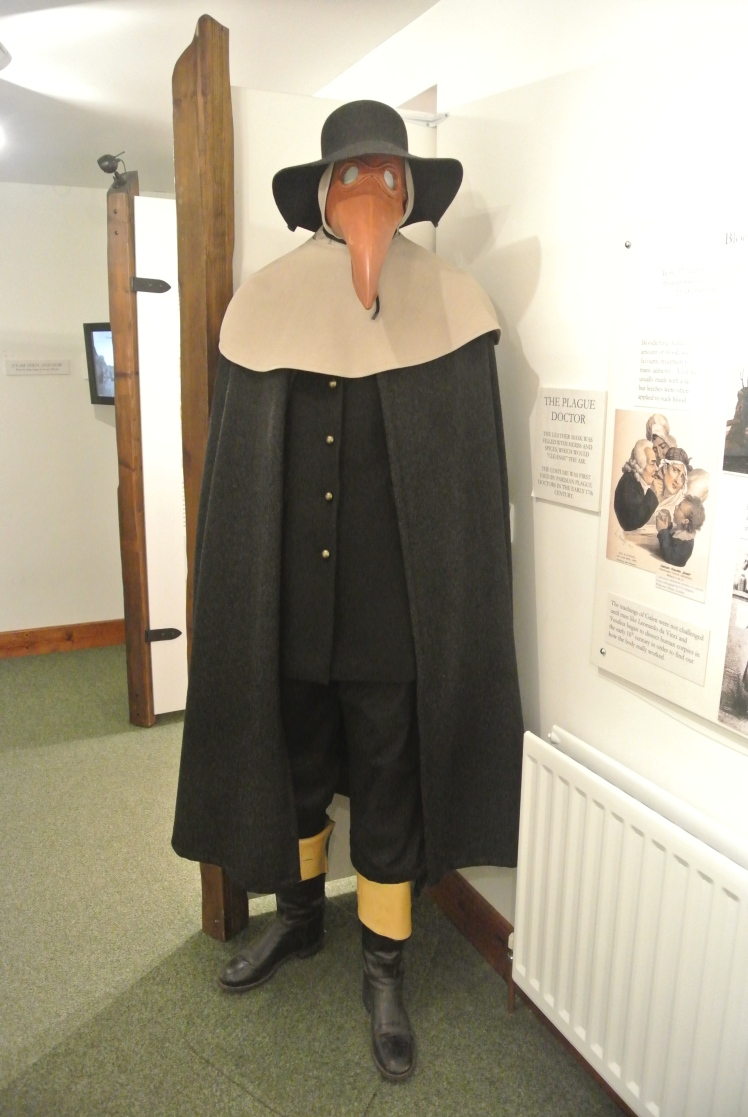 Display in Eyam Museum
