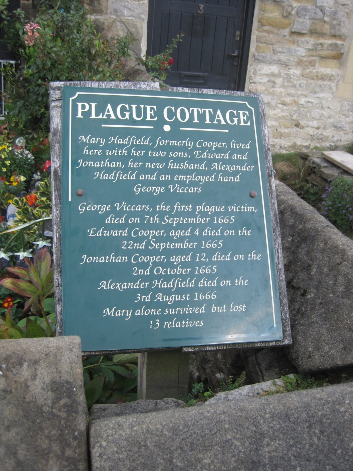 Eyam plague cottage - photo by Juliamaud