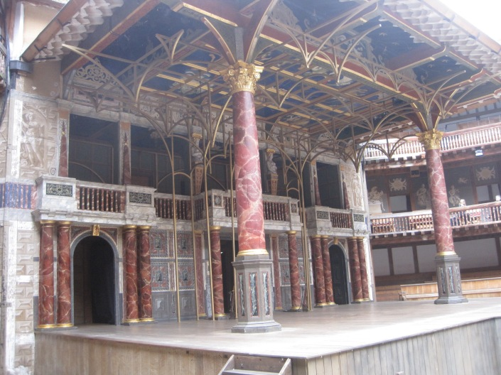 The Globe stage - photo by Juliamaud