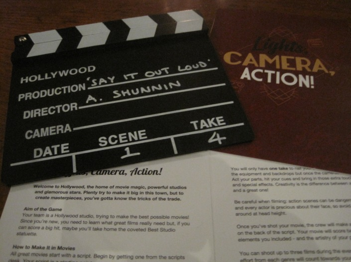 Lights, Camera, Action - photo by Juliamaud