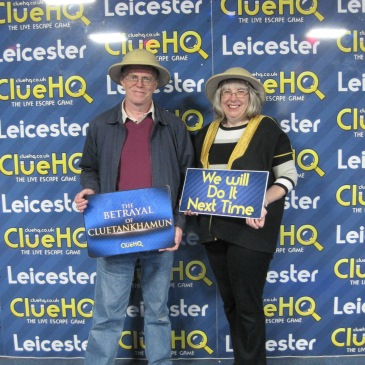 Clue HQ Leicester Team