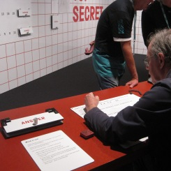 Top Secret at Science Museum - photo by Juliamaud