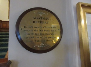 Agatha Christie disappears to Harrogate - photo by Juliamaud