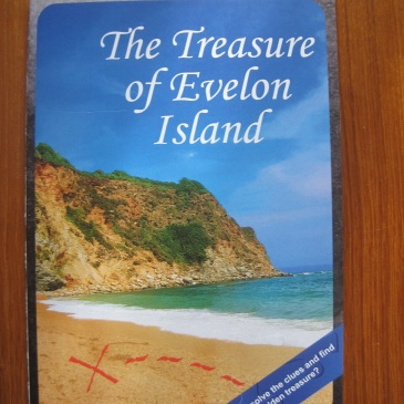 Treasure of Evelon Island Card - photo by Juliamaud