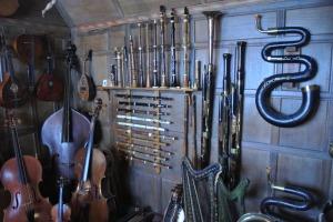 Charles Wade's collection at Snowshill Manor - photo by Juliamaud