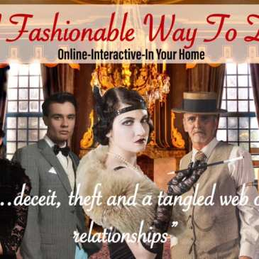 Murder Mystery Online-Interactive-In Your Home