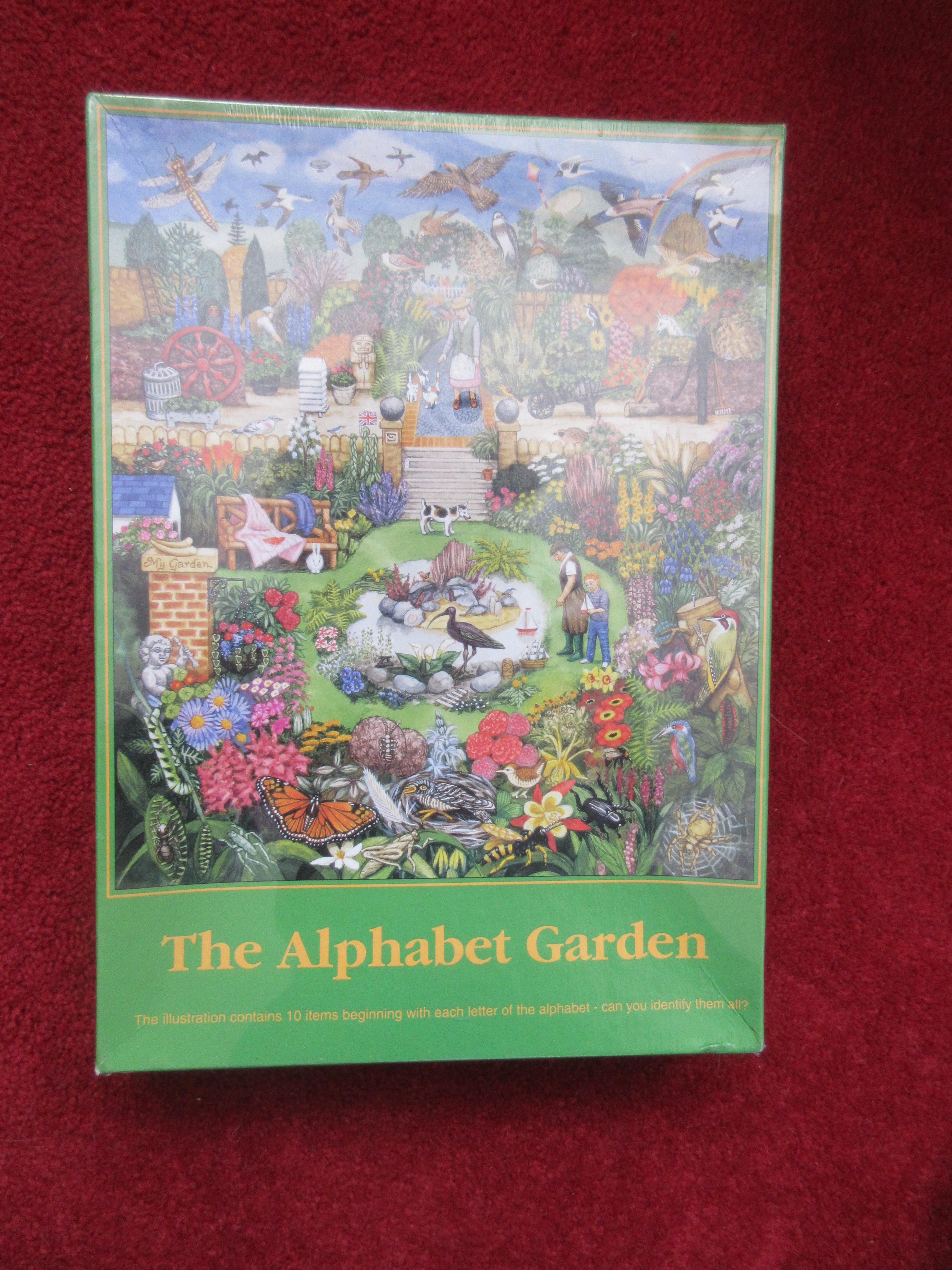The Alphabet Garden - photo by Juliamaud